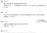 ITS114 城市贝博手机停车行业简报(6.8~6.12)