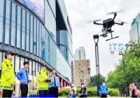 """无人机与RFID的结合 助力杭州交警打出电动自行车专项治理""""组合拳"""""""