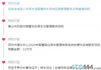 ITS114 城市智慧停车行业简报(9.14~9.20):本周道路停车智能化中标1.5亿
