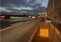 上海首套行车安全贝博保障系统试点申嘉湖高速