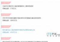 ITS114 城市贝博手机停车行业简报(12.21~12.27):多地推进停车信息联网