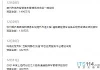 ITS114 城市贝博手机停车行业简报(12.28~1.3):阿里云进入城市级贝博手机停车运营市场